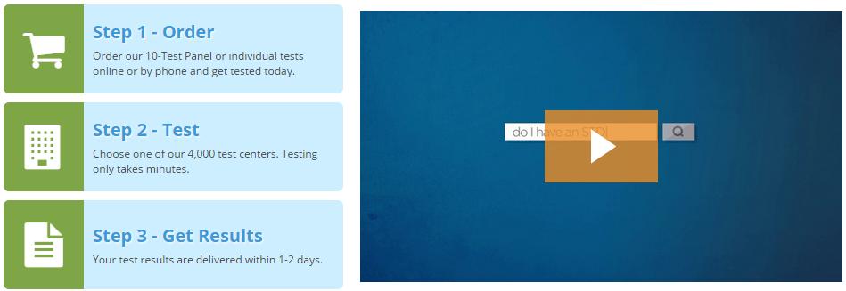 std testing albany